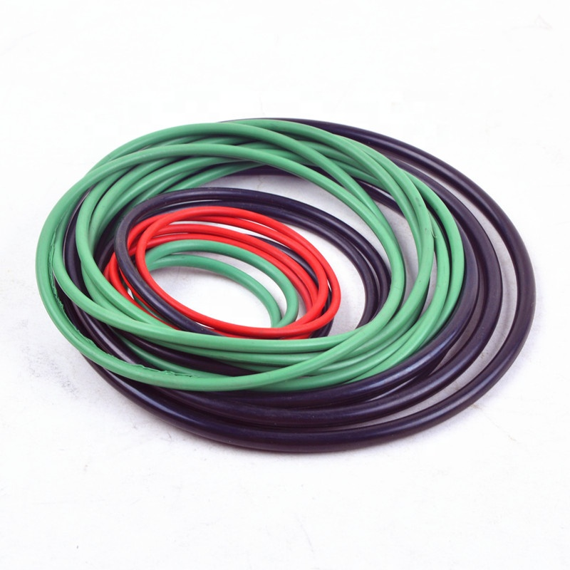 Custom Silicone Nbr Epdm Sealing Ring Rubber 1