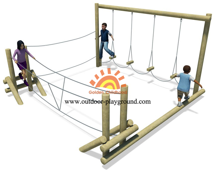 playground climber frame for children