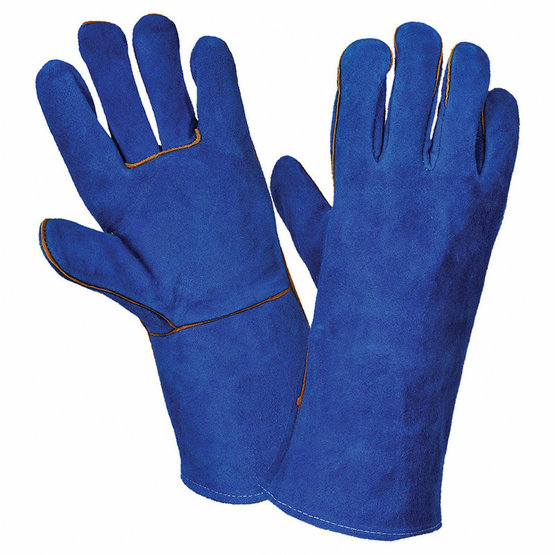 Leather Welding Sleeve Heat Resistant Protective Gloves
