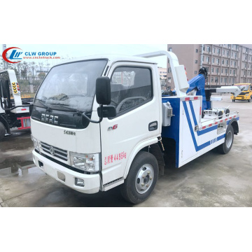 2019 New Dongfeng 3tons Heavy Wrecker Services Truck