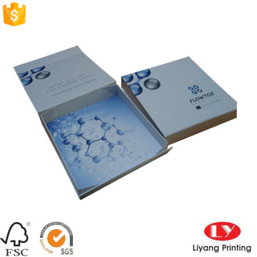 Cardboard folding gift cosmetic packaging box