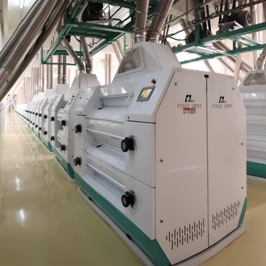 PINGLE Electronic Control Double Roller Mill
