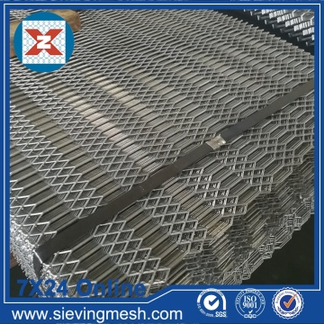 Hexagonal Expanded Metal Sheets