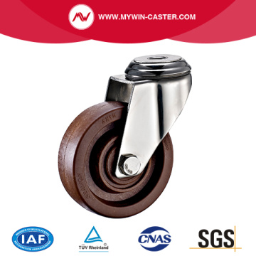 Bolt Hole Swivel High Temperature Casters