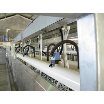 automatic rotating milk cow parlor