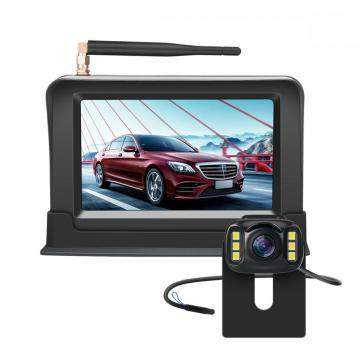 Wireless Backup Camera with Wireless 4.3'' Car monitor