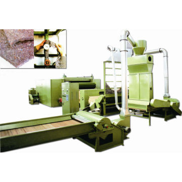 west fabric making line