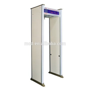 Guard Spirit walkthrough metal detector with truckle