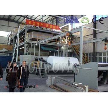 Brand new AL-3200 SS spunbond nonwoven machine with high quality