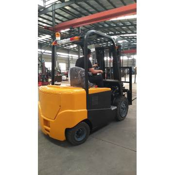 4 wheels forklift 3 ton electric lifting truck