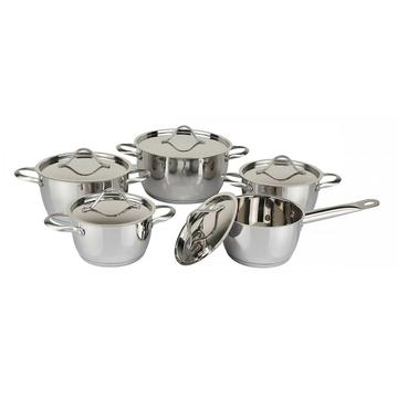 Concial shape 10pcs cookware set