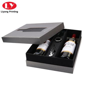 Luxury Paper Cardboard Wine Storage Box