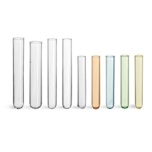 Disposable Plastic testing tube PE PPP PS Clear