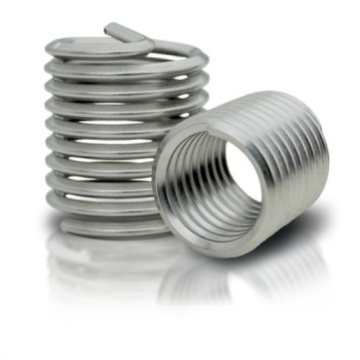 Screw fasteners for thread repairing heli coil insert