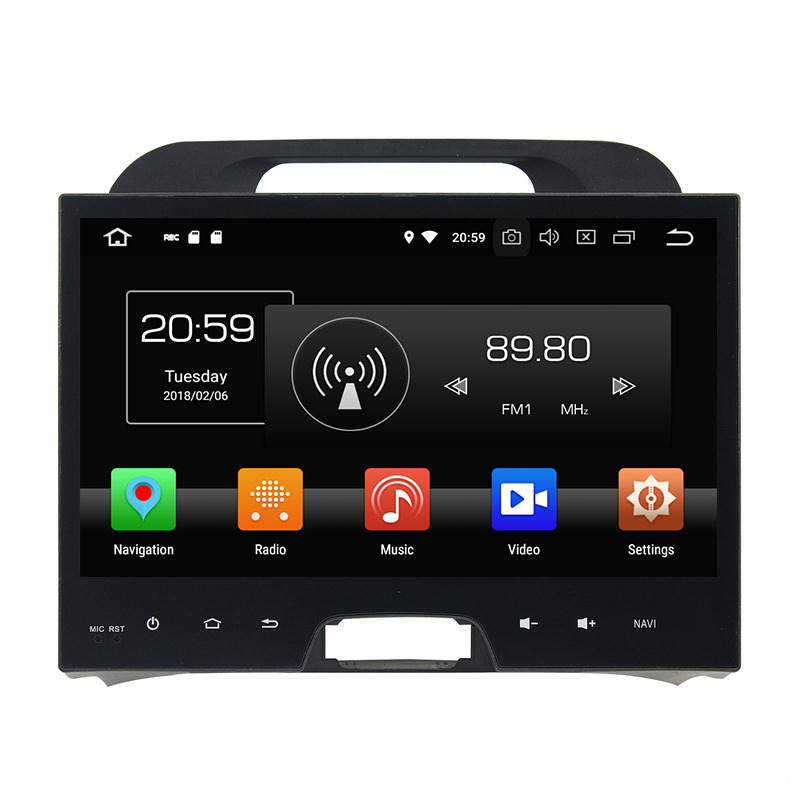 Android 8.1 OS Multimedia Player for Sportage 2010-2012 (2)