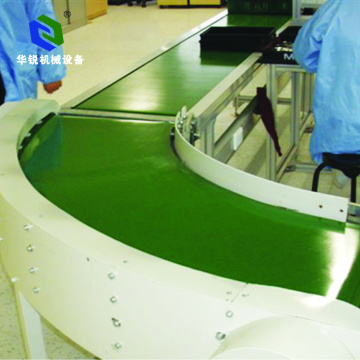 Small Industrial Advanced technology Curve PVC Conveyor Belt