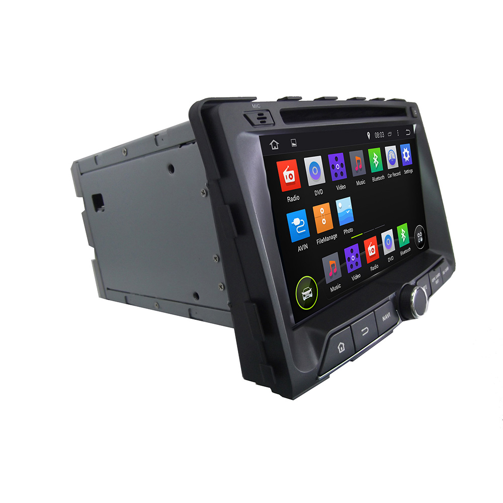 android car DVD navagition for Ssangyong RODIUS 2014