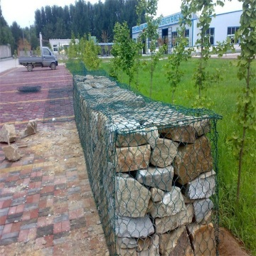 pvc coated gabion slope protection net