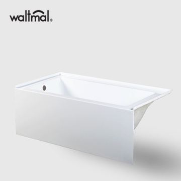 Alcove Bathtub in White Acrylic