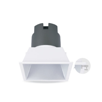 Square White Dimmable 10W LED DownLight