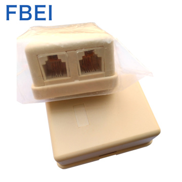 High quality Electric rj11 6P4C Adapter connector