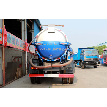 Brand New Dongfeng 10m³ Sewage Truck For Sale