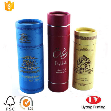 round paper gift box for personal care packaging