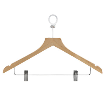 Hotel Anti-Theft Wooden Suit Hanger