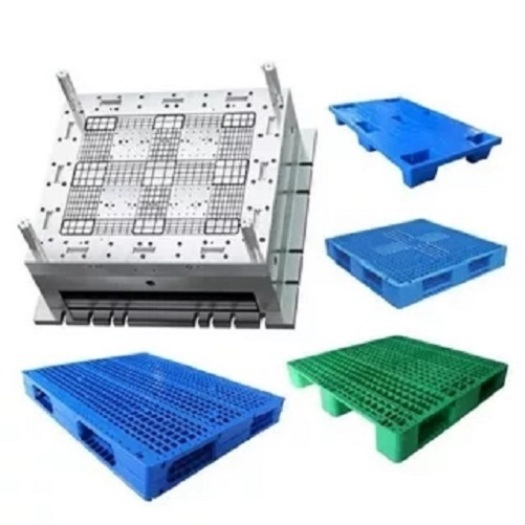 Grid Nine Feet Single Board Plastic Pallet mould