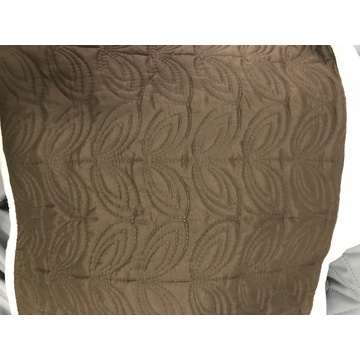 Leaves Design Ultrasonic Microfiber Fabrics