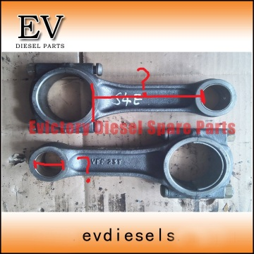 MITSUBISHI engine S4E bearing crankshaft con rod conrod