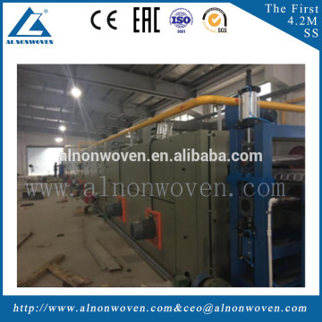 Low Melt Fiber Soft Waddings/Thermal Bonded Oven Production Line For Making Mattress