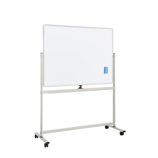 Office double sides magnetic mobile Whiteboard with stand