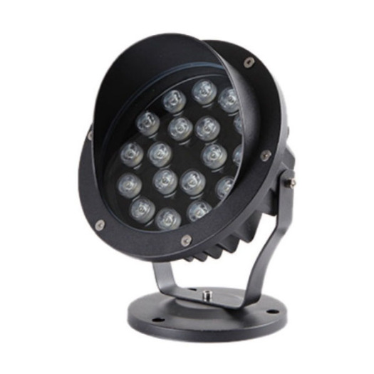 Dimmable Aluminum Black CREE LED Spike Light 18W