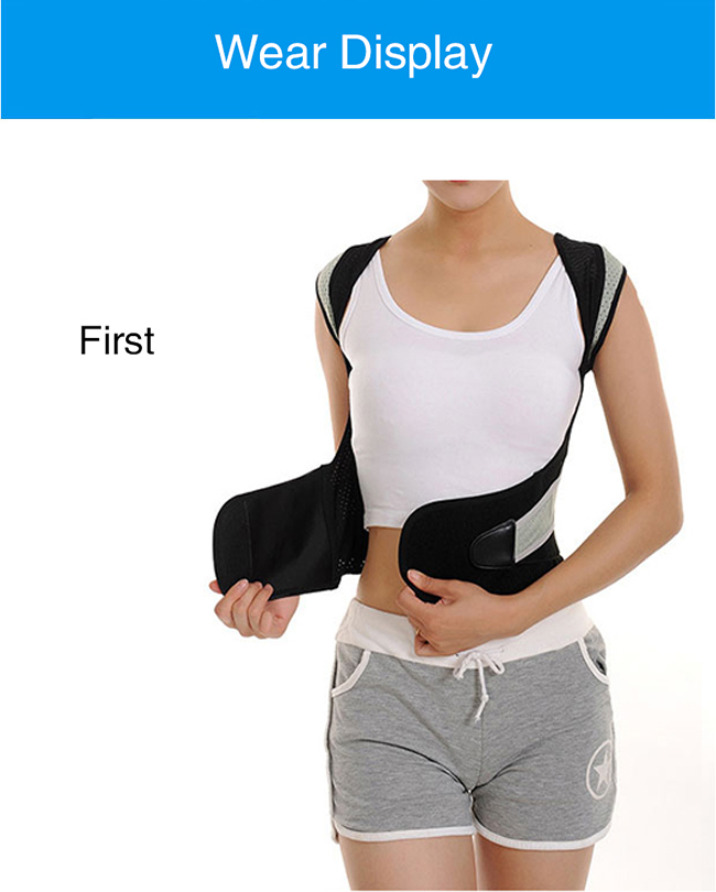 safe and convenient posture corrector