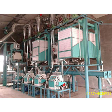 10-30ton/D Wheat Milling Machine Plant