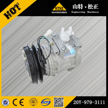Komatsu parts genuine D85A-21 air compressor 20Y-979-3111