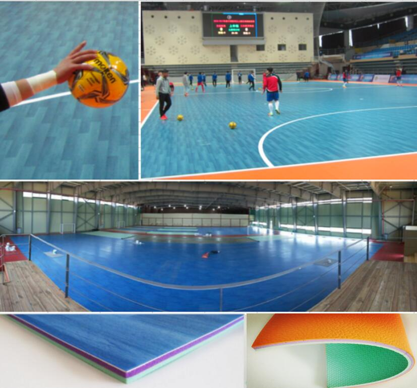 Futsal Court Color Combination