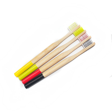 Custom Logo Wholesale Hotel Eco-friendly Bamboo Toothbrush