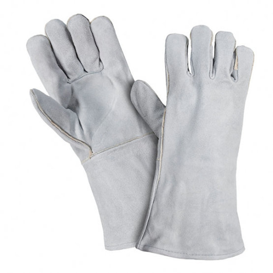 Cowhide Industrial Working Protective Welding Leather Gloves