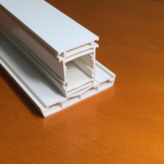 70mm Extruded Plastic PVC Profiles
