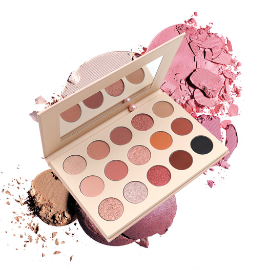 15 colors natural eye shadow cosmetic palette