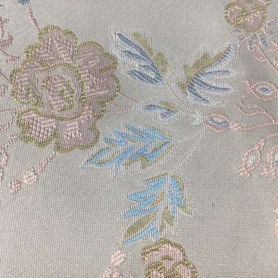 Floral Mattress Woven Custom Jacquard Fabric