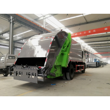 Brand new Dongfeng 180hp 12cbm Waste Collection Vehicle