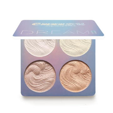 Highlighter Powder Palette Face Contour Shimmer Makeup Glow