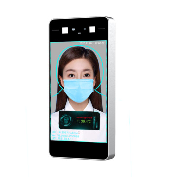 2021 8 Inch AI Face Recognition Thermometer