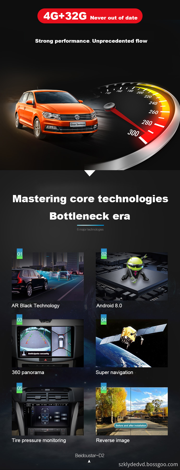 Hot sale android 9.0 car audio H1