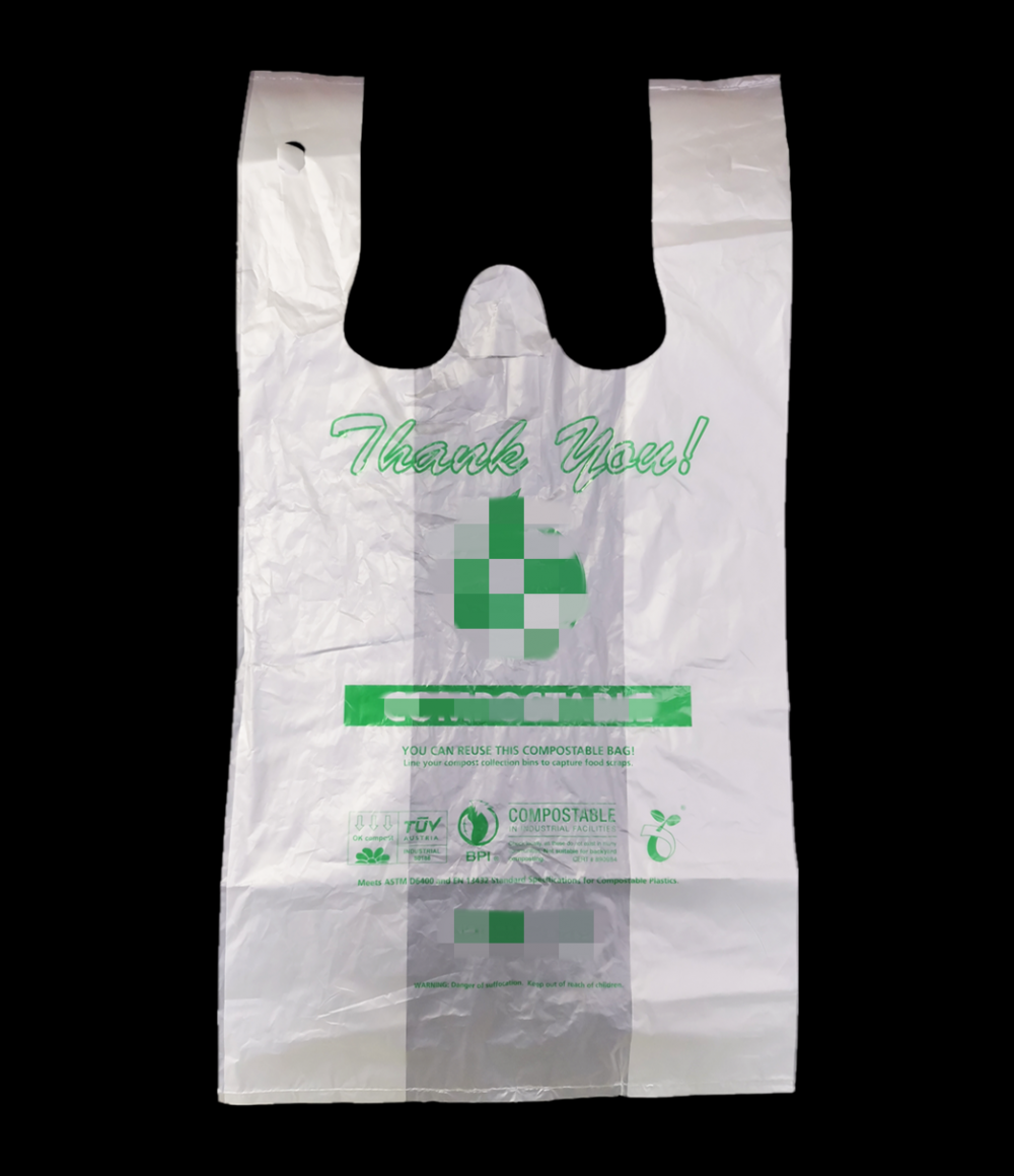 ASTM D6400 Certified Eco-Friendly Bags