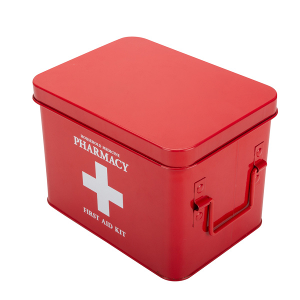 Resident Evil Tin First Aid Box Vintage
