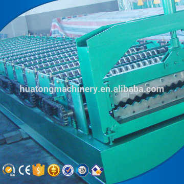 Huatong corrugated iron roof sheet making machine manufacture